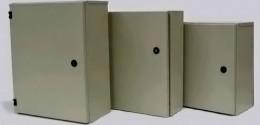 Cajas de registro y gabinetes eléctricos