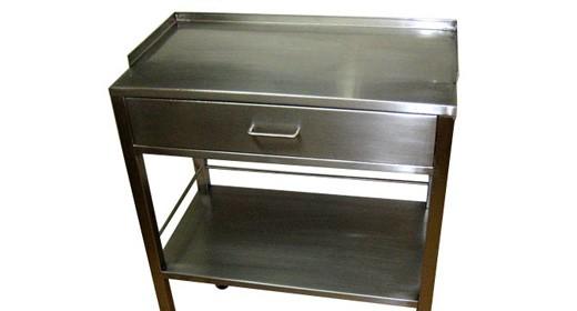 Mesa auxiliar con gaveta